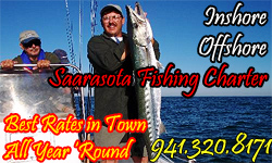 Rodbender Fishing Charters - home page opens in new window