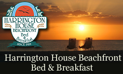 Harrington House Beachfront Bed and Breakfast Inn - home page, opens in new window