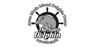 The Salty Dolphin, tours 941 281 3461, home, new window.