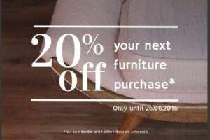 20% Off Furniture
